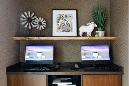 Business Center | Revel Hotel Des Moines Urbandale, Tapestry Collection by Hilton