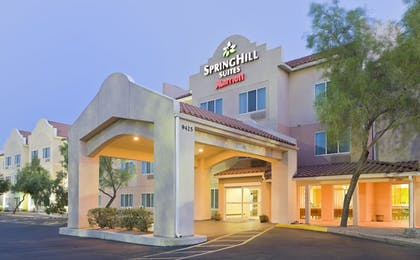 Hotel Front - Evening/Night | SpringHill Suites Phoenix North