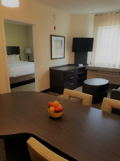 Living Area   Candlewood Suites East Syracuse - Carrier Circle
