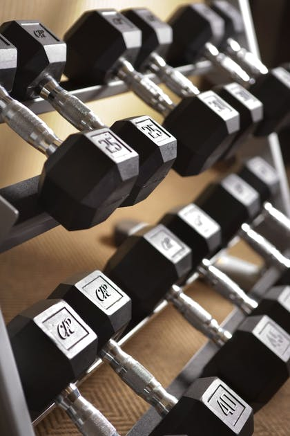 Fitness Facility | Ayres Suites Ontario at the Mills Mall