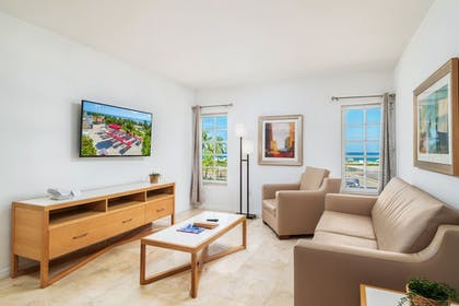 Living Room | Bentley Hotel South Beach