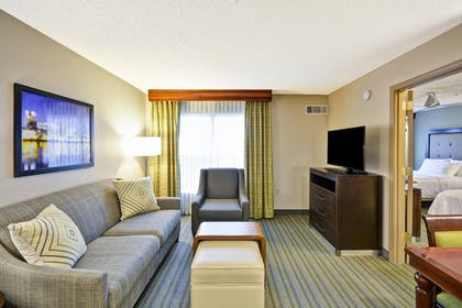 | 1 King Bed 2 Double Beds 2 Bedroom Suite | Homewood Suites by Hilton Hillsboro/Beaverton