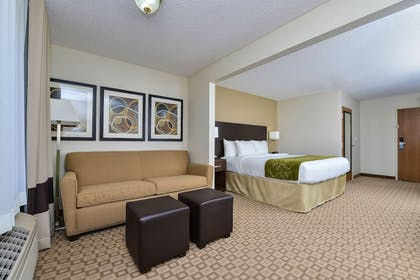 Living Area | Comfort Suites At Tucson Mall