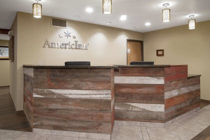 Reception | AmericInn by Wyndham Mount Pleasant