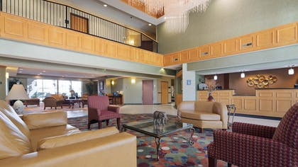 Lobby | Best Western Circus City Inn
