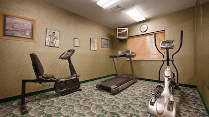 Fitness Facility | Best Western Circus City Inn