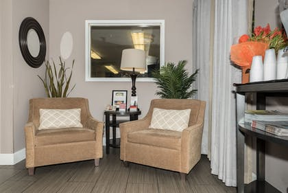 Lobby Sitting Area | Candlewood Suites Irvine
