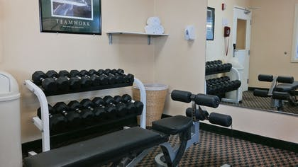 Fitness Facility   Quality Inn & Suites