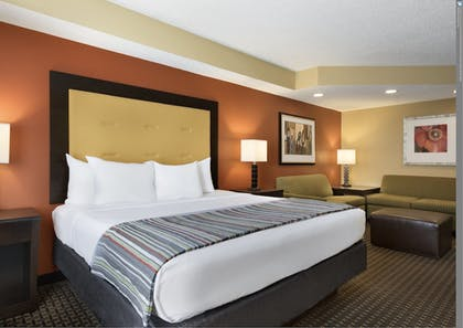   Studio Suite, 1 King Bed with Sofa bed, Non Smoking   Country Inn & Suites by Radisson, Evansville, IN