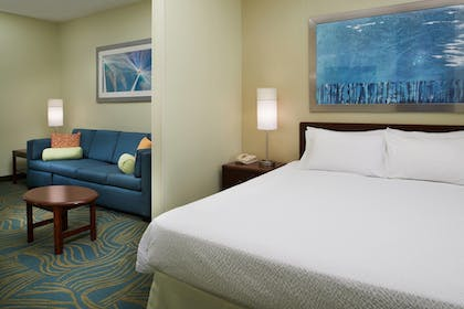 Guestroom | SpringHill Suites by Marriott St. Louis Chesterfield