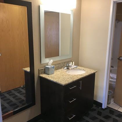 Bathroom | TownePlace Suites Bend Near Mt. Bachelor