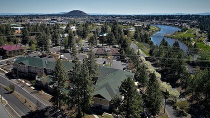 Aerial View | TownePlace Suites Bend Near Mt. Bachelor