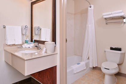 Bathroom | Holiday Inn Express & Suites Sioux Falls At Empire Mall