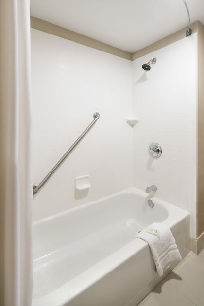 Bathroom Shower | Best Western Plus Denver International Airport Inn & Suites