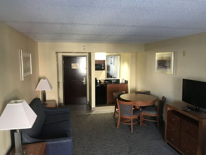 Living Area | Wingate by Wyndham Convention Ctr Closest Universal Orlando