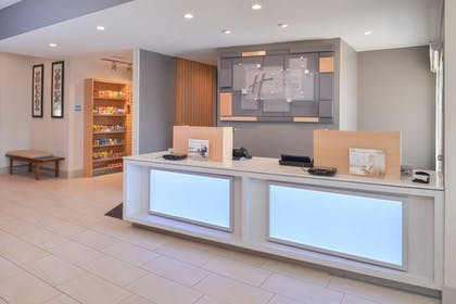Lobby | Holiday Inn Express & Suites Omaha - 120th and Maple