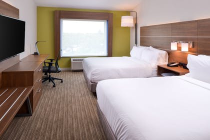 Guestroom | Holiday Inn Express & Suites Omaha - 120th and Maple