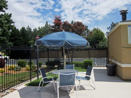 Terrace/Patio | Extended Stay America - Fayetteville - Cross Creek Mall