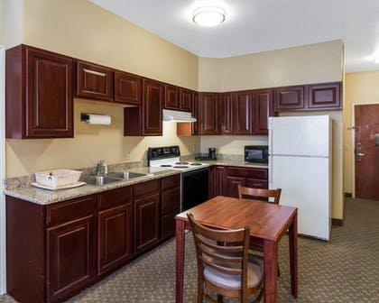 In-Room Kitchen | Quality Suites