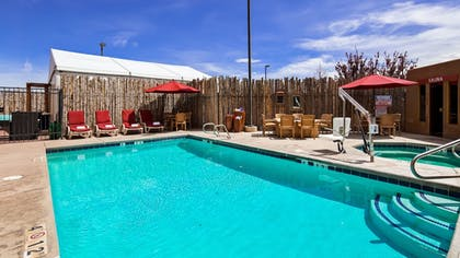 Outdoor Pool   Inn at Santa Fe, SureStay Collection by Best Western