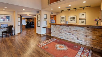 Reception   Inn at Santa Fe, SureStay Collection by Best Western