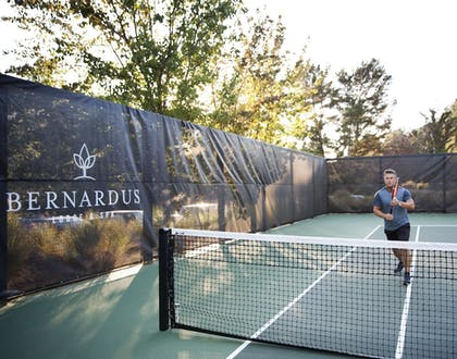 Tennis Court | Bernardus Lodge & Spa