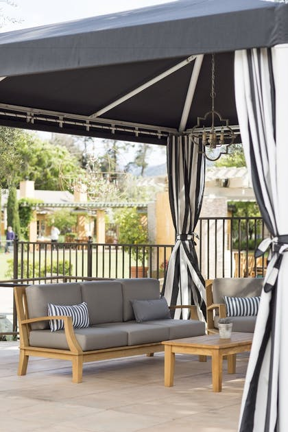 Terrace/Patio | Bernardus Lodge & Spa