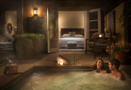 Jetted Tub | Bernardus Lodge & Spa