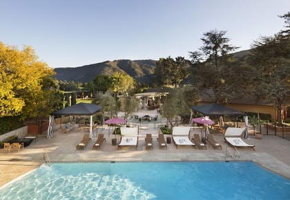 Outdoor Pool | Bernardus Lodge & Spa