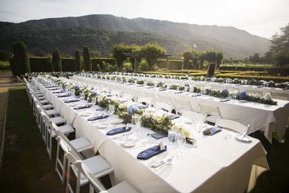 Outdoor Wedding Area | Bernardus Lodge & Spa
