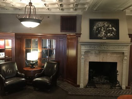 Lobby Sitting Area | The Eldridge Hotel