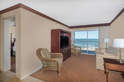 | 2 Double Beds and 1 King Bed, Two-Bedroom Suite, Ocean Front, Non-Smoking | Days Inn by Wyndham Ocean City Oceanfront
