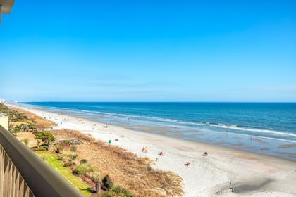 Balcony View | North Shore Oceanfront Hotel