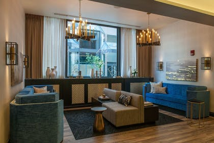 Lobby Sitting Area | The Goodwin Hotel