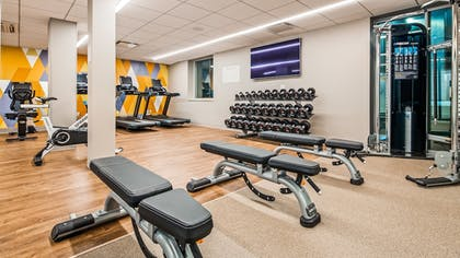 Fitness Facility | DoubleTree by Hilton Bloomfield Hills Detroit