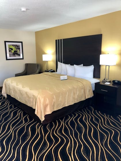 Guestroom View | The Cattle Baron's Quality Inn Hotel & Suites Ft Worth