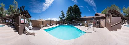Outdoor Pool | Best Western Airport Albuquerque InnSuites Hotel & Suites
