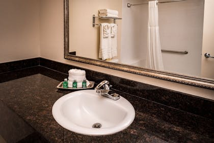 Bathroom Sink | Best Western Airport Albuquerque InnSuites Hotel & Suites