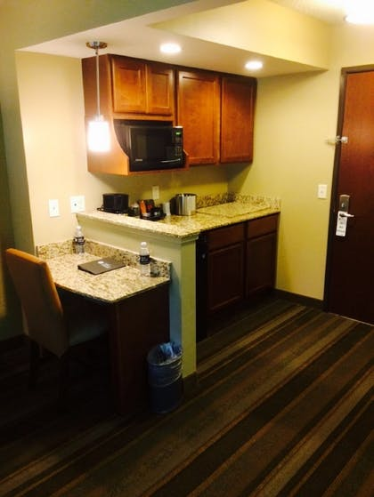 In-Room Kitchenette | The East Avenue Inn & Suites