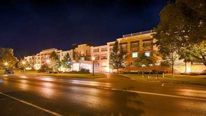 Hotel Front - Evening/Night | Best Western Watertown Fort Drum