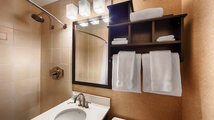 Bathroom | Best Western Watertown Fort Drum