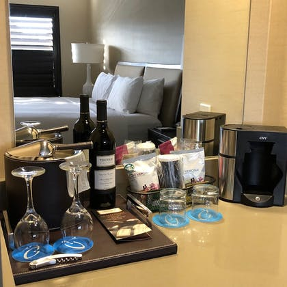 In-Room Coffee | Cupertino Hotel