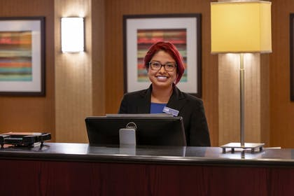 Reception | Holiday Inn Express Chicago-Downers Grove