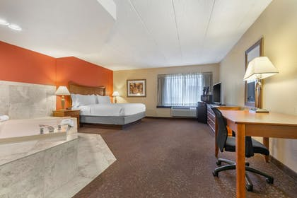 Guestroom View | Holiday Inn Express Chicago-Downers Grove