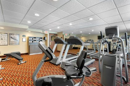 Fitness Facility | Holiday Inn Express Chicago-Downers Grove