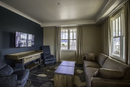 Living Area | Stanley Hotel