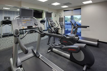 Fitness Facility | Holiday Inn Express Hotel and Suites Laurel