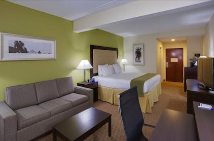 Living Area | Holiday Inn Express Hotel and Suites Laurel