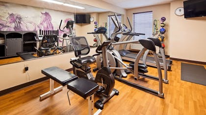 Fitness Facility | Best Western Harrisburg North Hotel