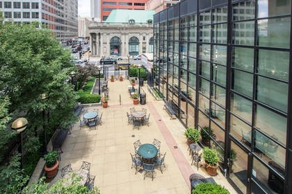 Courtyard View | City Place St. Louis - Downtown Hotel